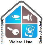 Bild Weisse Liste Schlüsseldienst-Einbruchschutz