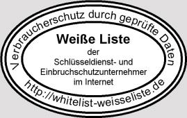 Weiße Liste Schlüsseldienst